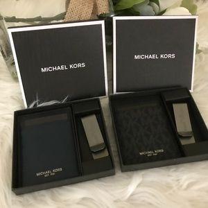 Michael Kors men Card holder with gift box